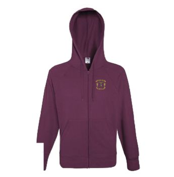 33EOD Embroidered Zipped Hoodie